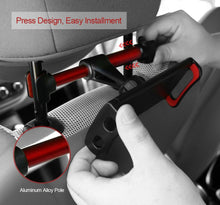 "360° Car Back Seat Headrest Mount Holder For 4"" - 11"" Tablet, iPad, GPS"