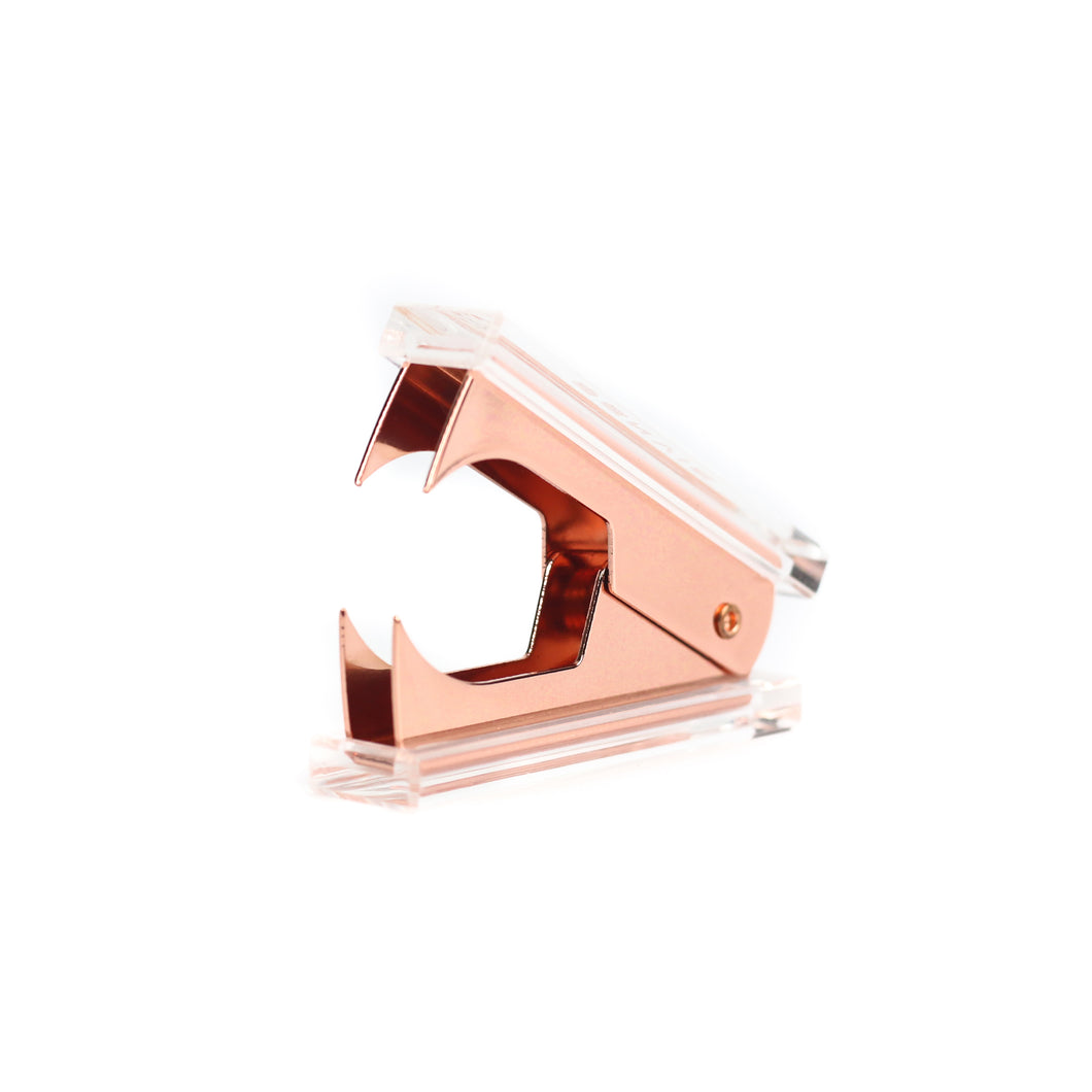 Rose Gold Acrylic Staple Remover