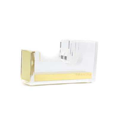 Gold Acrylic Tape Dispenser