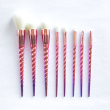 Pink Unicorn Makeup Brush Set