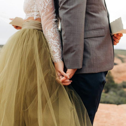 BREATHTAKING WEDDING PHOTOS IN A UTAH STATE PARK