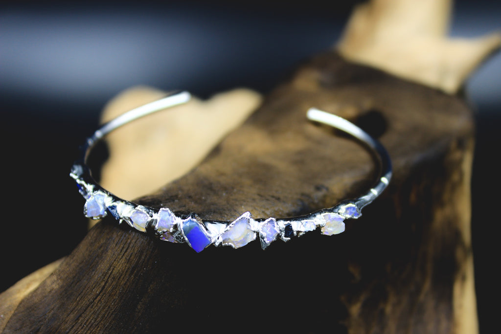 Australian Opal Chip Bracelet-The Fox And Stone