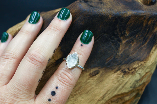 The Empress Ring IX - The Fox And Stone Bohemian Jewelry Alternative Engagement Ring