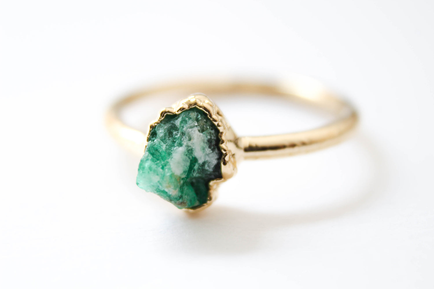 The Jewel of Kings Ring - The Fox And Stone Bohemian Jewelry Alternative Engagement Ring
