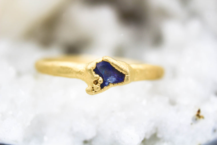 The Little Empress Opal Stacking Ring