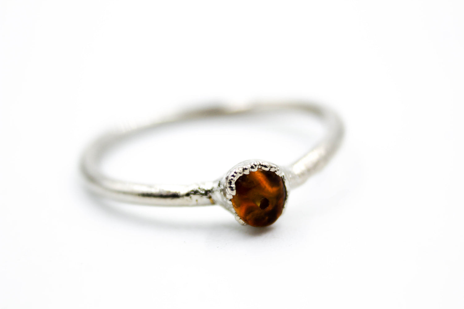 Rough Gemstone Stacking Rings - Copper Based-The Fox And Stone