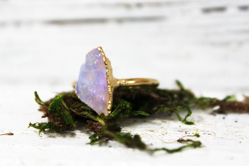 raw opal ring, organic engagement ring, non-traditional wedding ring, australian opal, raw stone engagement ring, bohemian engagement ring