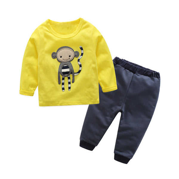 3 piece monkey boy set