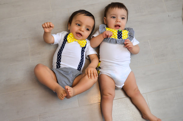 Brother/Sister romper - Boys only