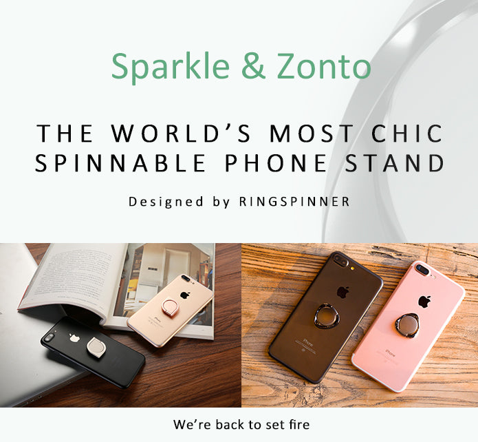Ring Spinner: The Stylish Stand & Cool Spinner for Phone