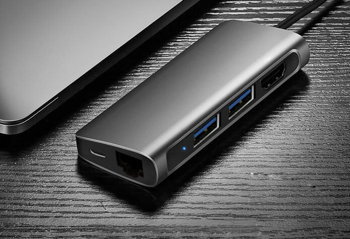 Vinpok HUB: 7 In 1 Multi Port Device
