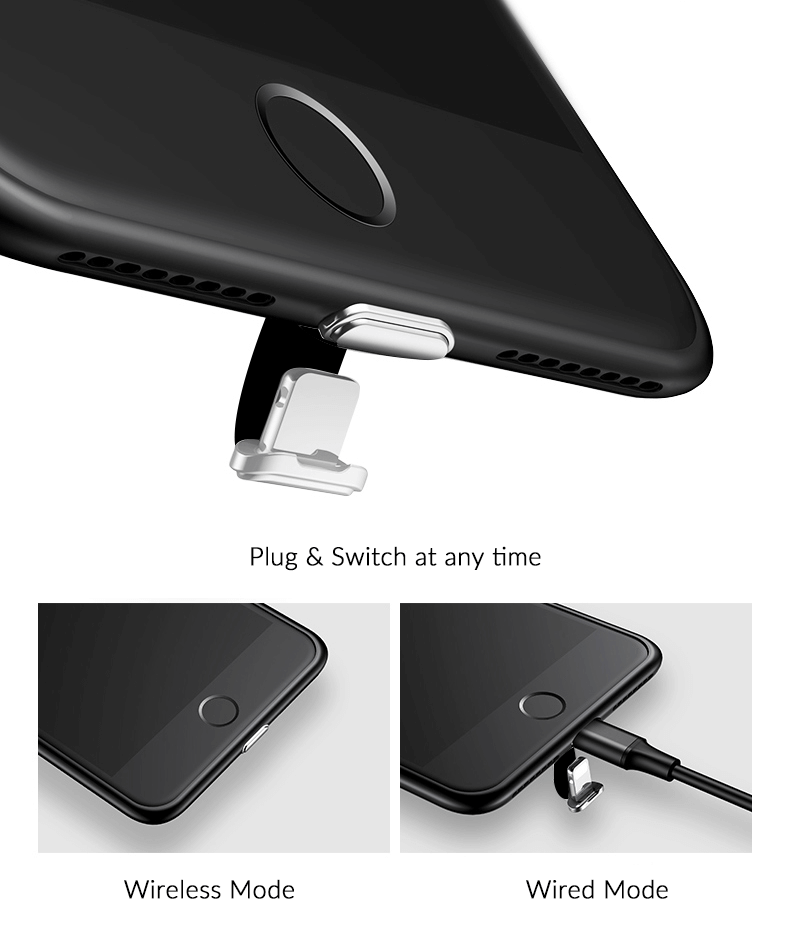 Wireless charging case