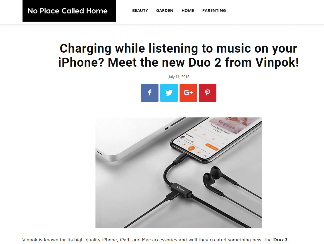 Charging while listening to music on your iPhone? Meet the new Duo 2 from Vinpok!