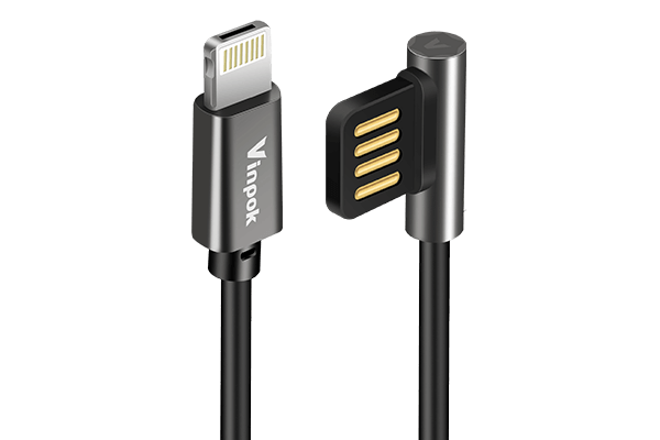 Vinpok Mos USB-A to Lightning Charging Cable for iPhone/iPad
