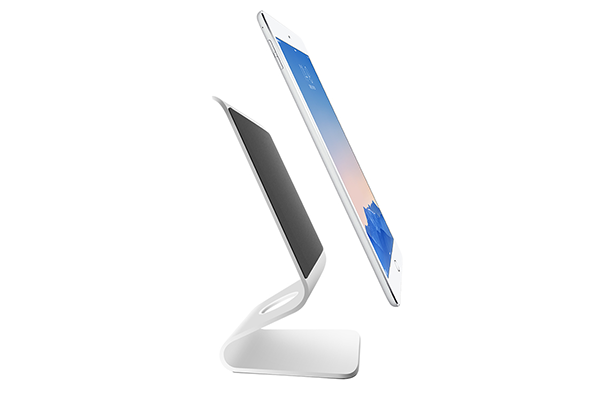 Zand, Aluminum Alloy Desktop Mount Stand for iPad Mini/Air/pro