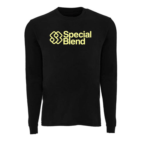 Special Blend | Stacked Logo Long-Sleeve-Shirt (Men)