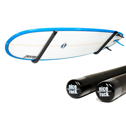 NICE RACK | Stand-up Paddle (SUP) & Longboard Angled Wall Rack