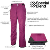 Special Blend | Womens Snowboard Pants / Ski Pants