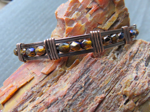 Copper Bracelet For Arthritis, Copper Bangle Bracelet - Desert Shine Designs