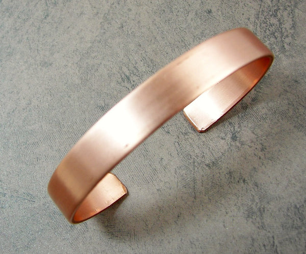 Copper Bracelet For Arthritis - Copper Bracelet Blank for Stamping - Desert Shine Designs