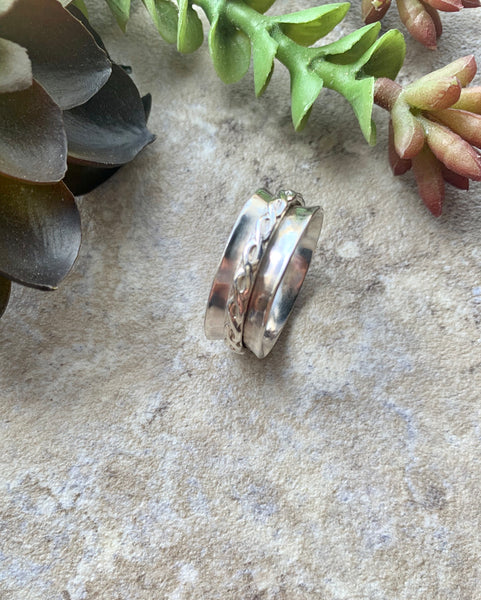 Silver Spinner Ring - Desert Shine Designs