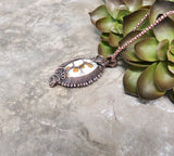Tree Through The Window Pendant Necklace - Desert Shine Designs