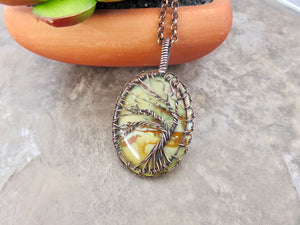 Tree of Life Pendant - Desert Shine Designs