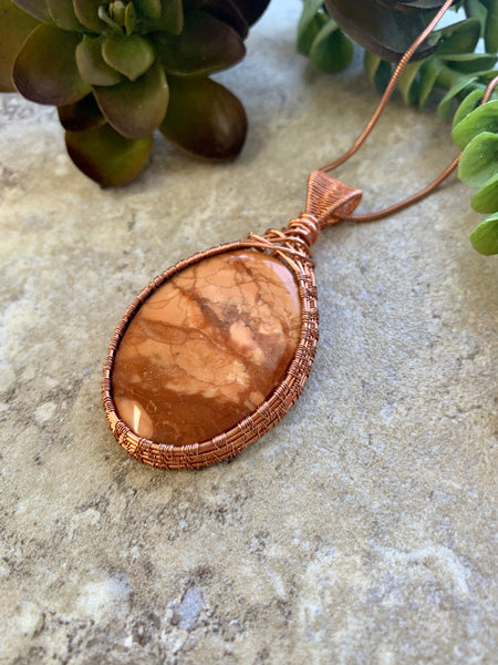 jasper pendant by Desert Shine Designs