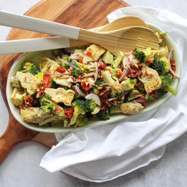Recipe: Broccoli and Artichoke Salad