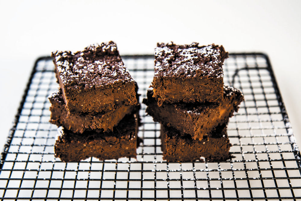 RECIPE: Sweet Potato Fudge Brownies