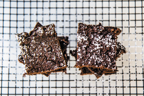 sweet potato fudge brownies