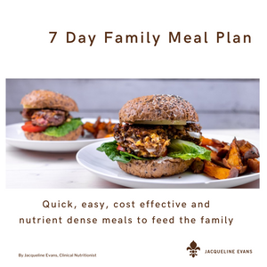 7 Day Family Meal Plan