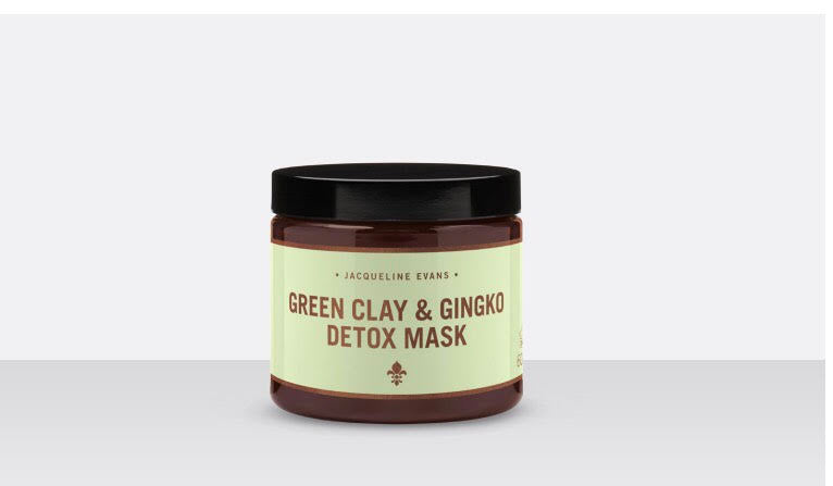 Green Clay & Gingko Detox Mask
