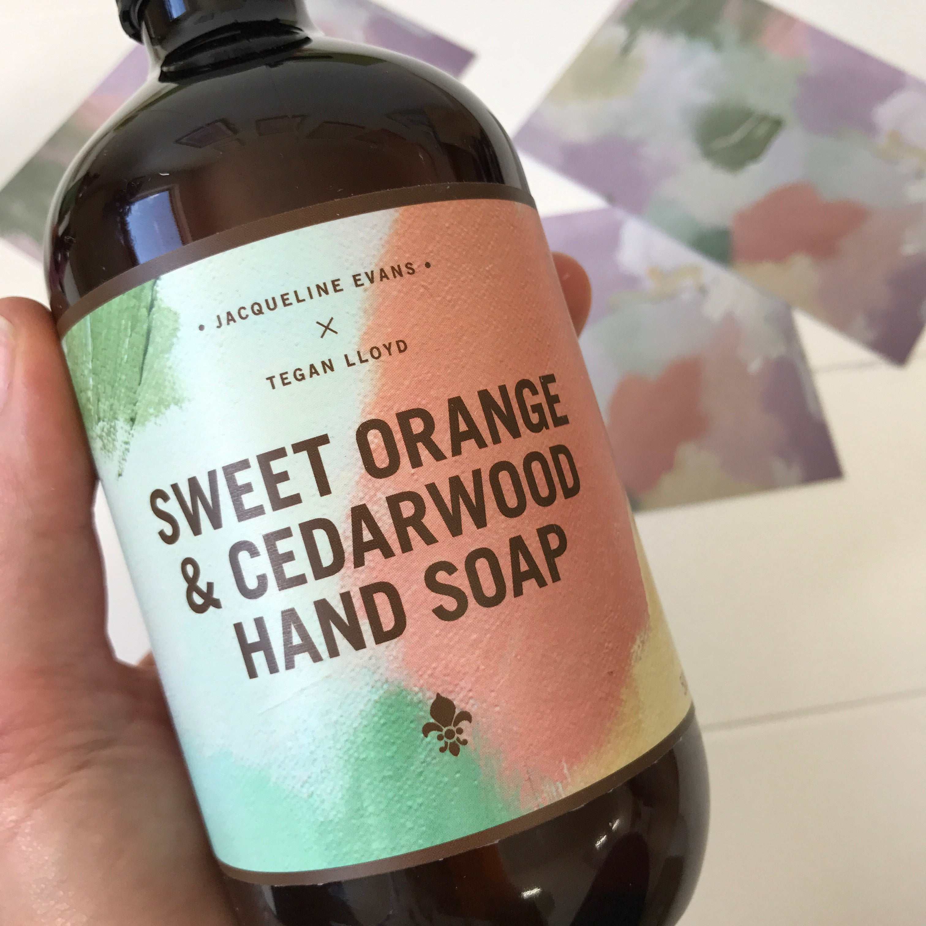 JE x Tegan Lloyd Hand Soap