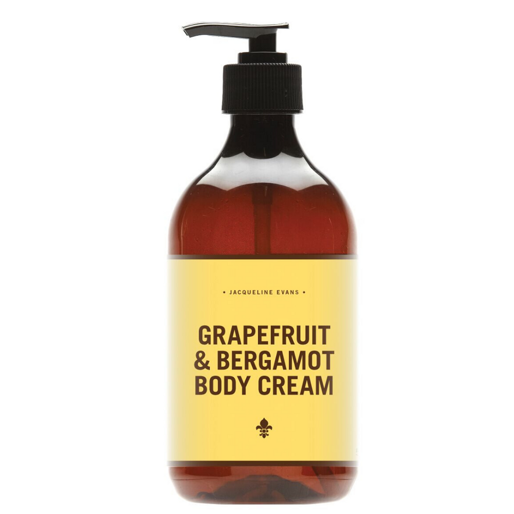 grapefruit body cream jacqueline evans