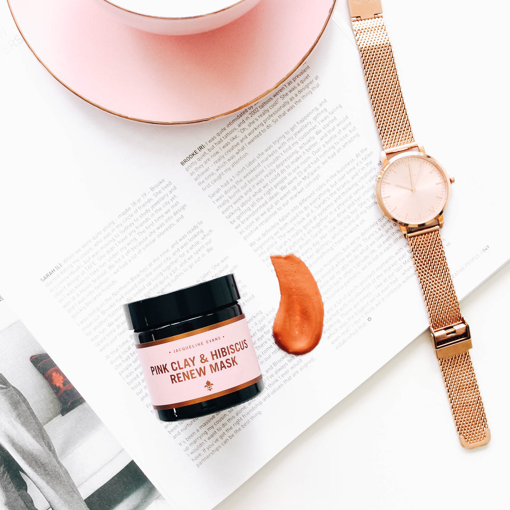 Pink Clay & Hibiscus Renew Mask