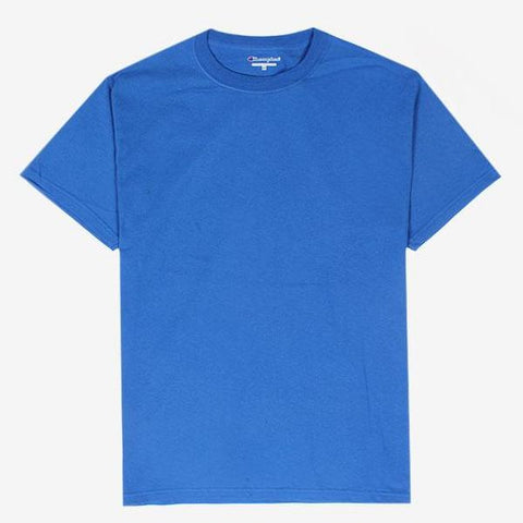 Champion Sleeve Logo T-Shirt Royal Blue
