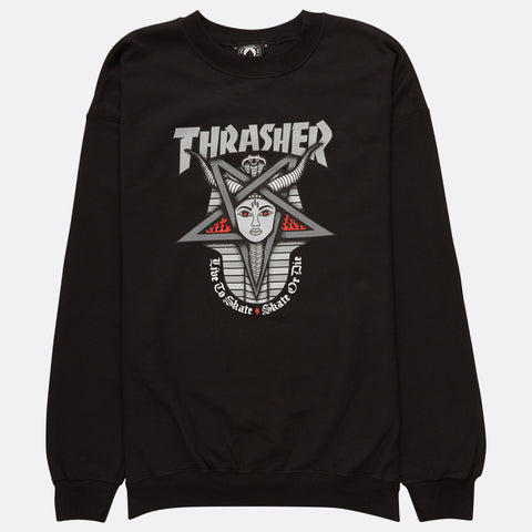 Thrasher Goddess Crewneck Black