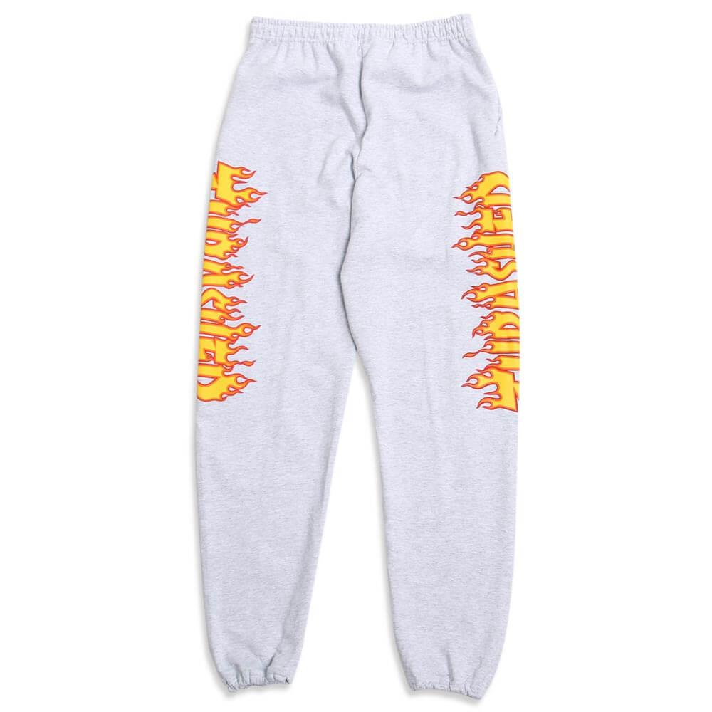 low cost new release unequal in performance Thrasher Flame Sweatpants Grey