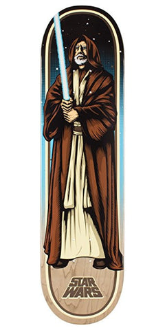Santa Cruz Star Wars Obi Wan Kenobi Skateboard Deck 8.00""