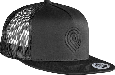 Powell Peralta Triple 3P Trucker Cap Black