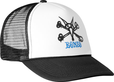 Powell Peralta Vato Rat Trucker Cap (Black/White)
