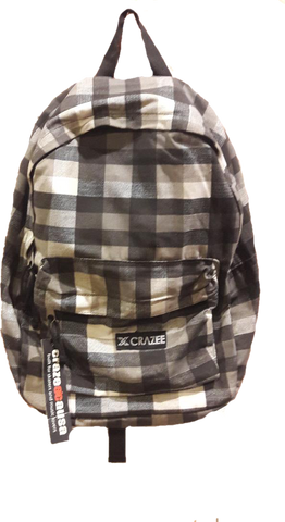 Crazeecausa Checker CAM  Men Backpack