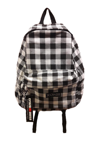 Crazeecausa Checker II Men Backpack
