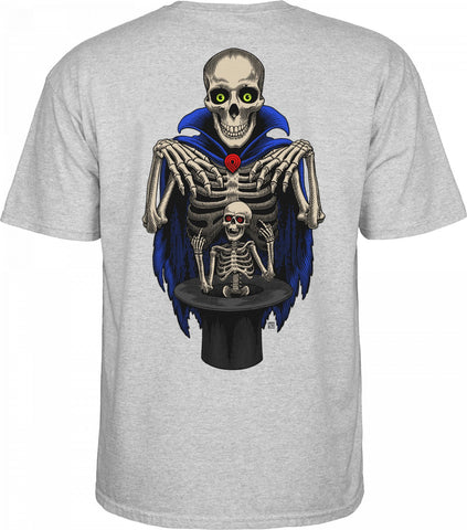 Powell Peralta Blair Magician T-shirt Grey