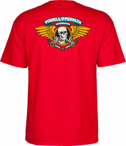 Powell Peralta Winged Ripper T-shirt Red