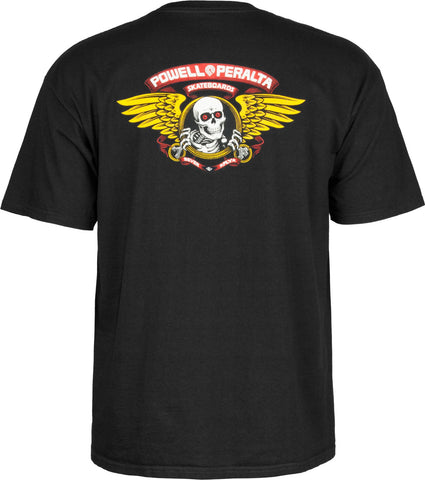 Powell Peralta Winged Ripper T-shirt Black