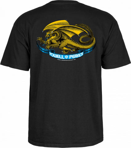 Powell Peralta Oval Dragon Black T-shirt