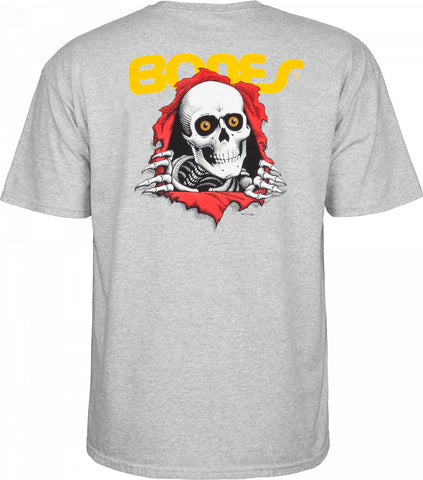 Powell Peralta Ripper T-shirt Gray