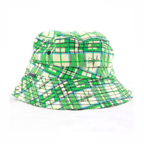 Odd Future High Plaid Bucket Hat Green